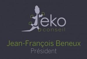 Signature JF Beneux Président Jeko conseil